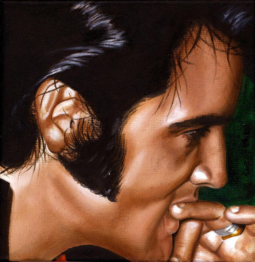 Elvis 24 1969 Painting