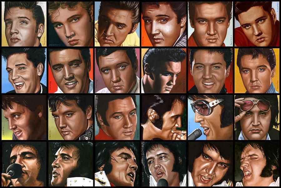 Elvis 24 Painting