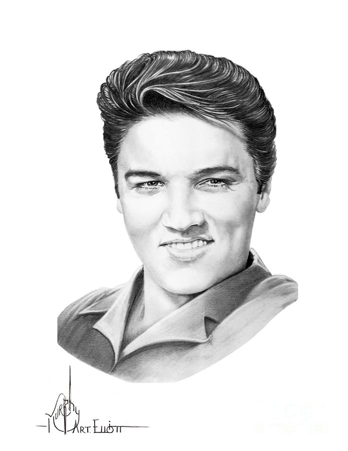 Elvis Aaron Presley Drawing