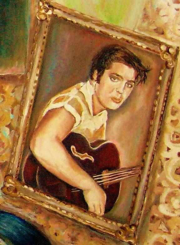 Elvis Country Boy Painting  - Elvis Country Boy Fine Art Print