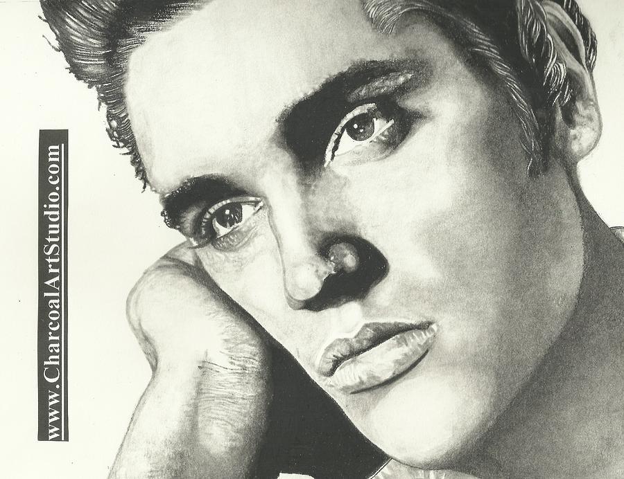 Elvis Presley Portrait Drawing