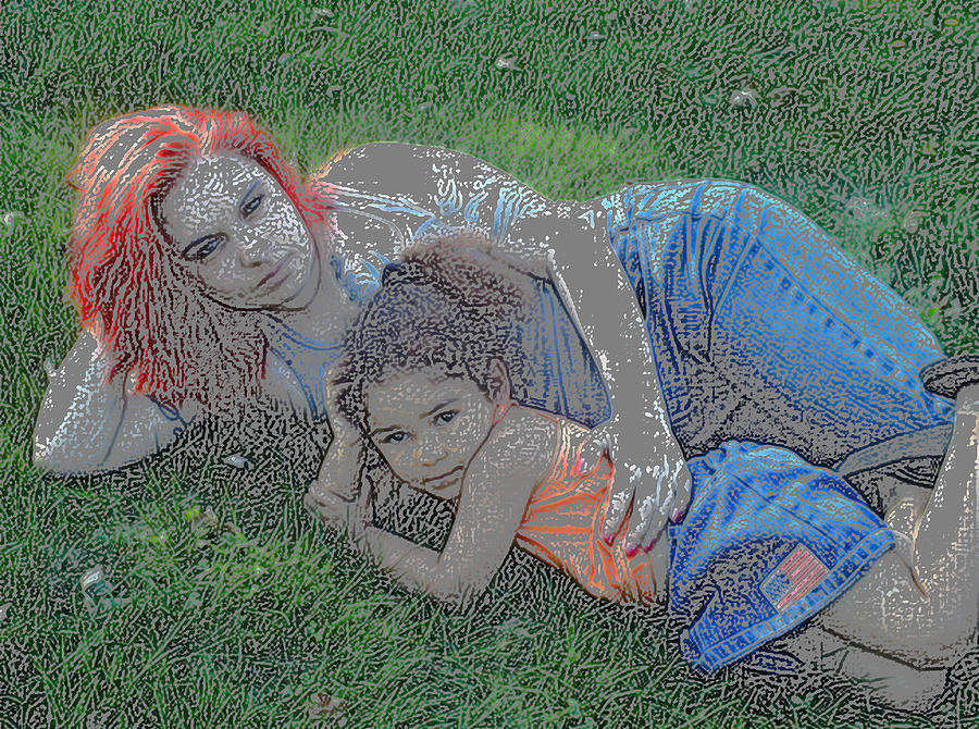 Embrace Your Child Photograph
