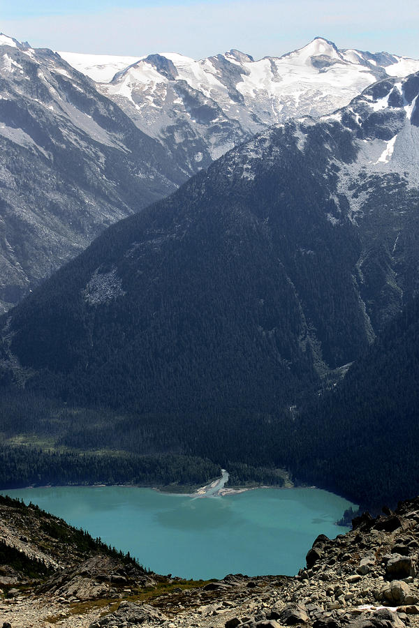 Emerald Cheakamus Lake Whistler Canada Photograph  - Emerald Cheakamus Lake Whistler Canada Fine Art Print