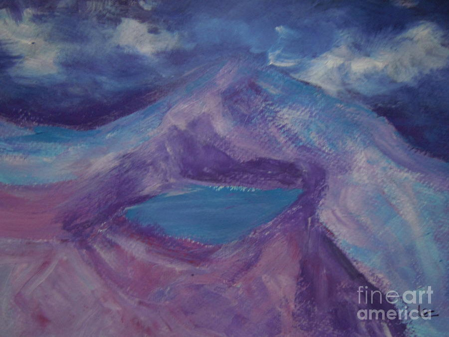 Emerald Lake New Zealand Painting