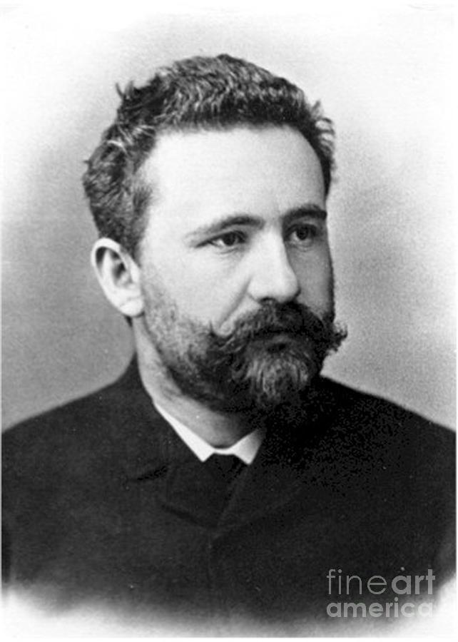 Emil Kraepelin, German Psychiatrist Photograph