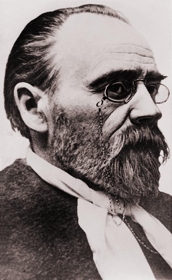 Emile Zola 1840-1902, French Novelist Photograph