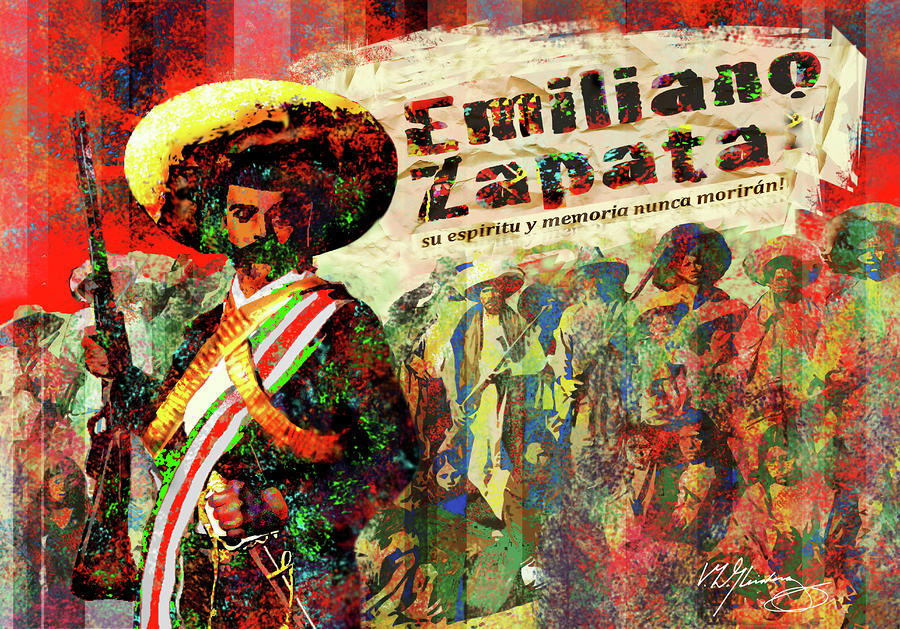 Emiliano Zapata Inmortal Painting