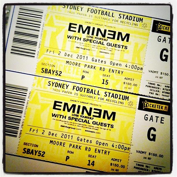 eminem tickets - photo #15