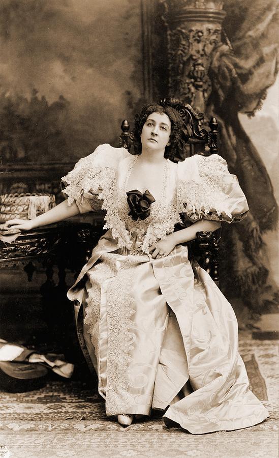 Emma Eames 1865-1952, American Soprano Photograph