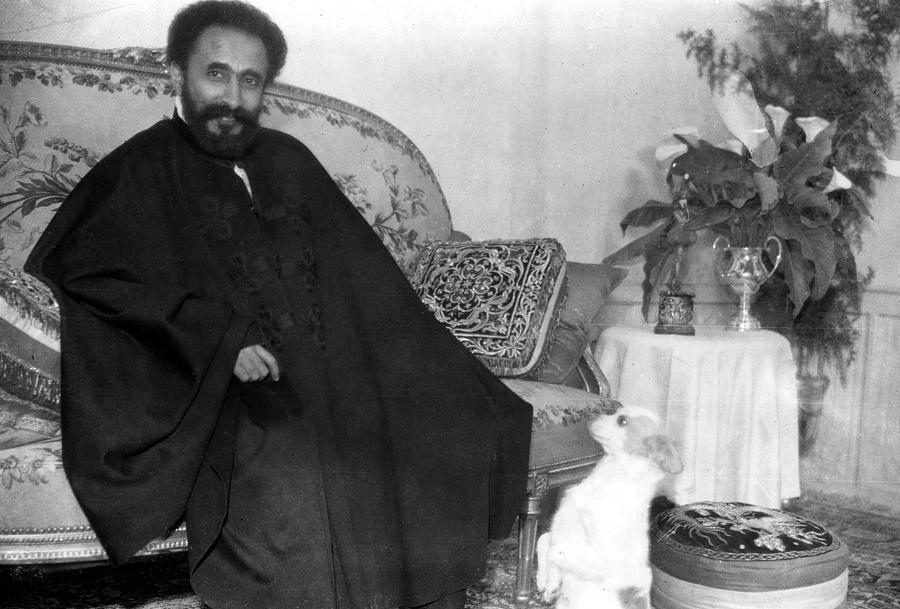 Beard Photograph - Emperor Haile Selassie, Circa 1930-1935 by Everett