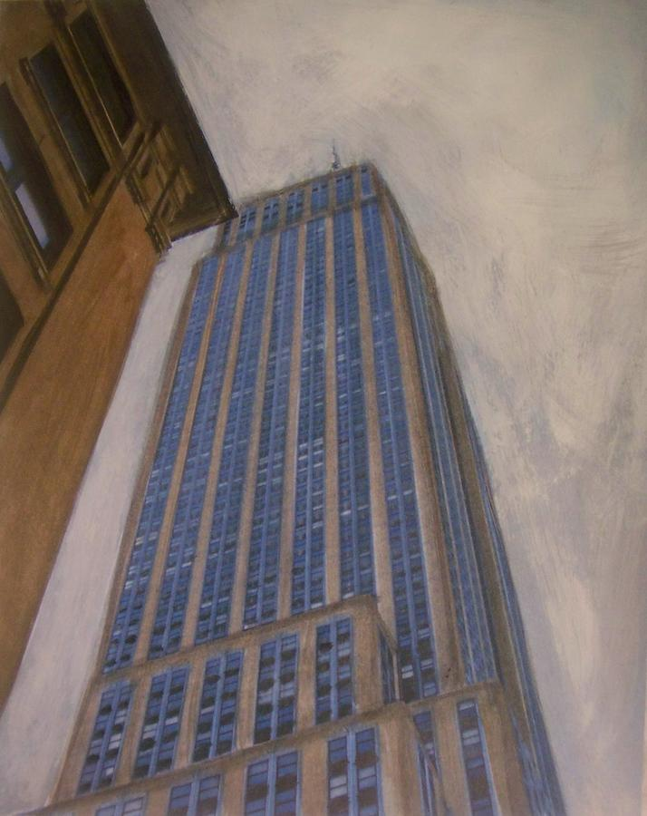 Empire State Building 2 Mixed Media