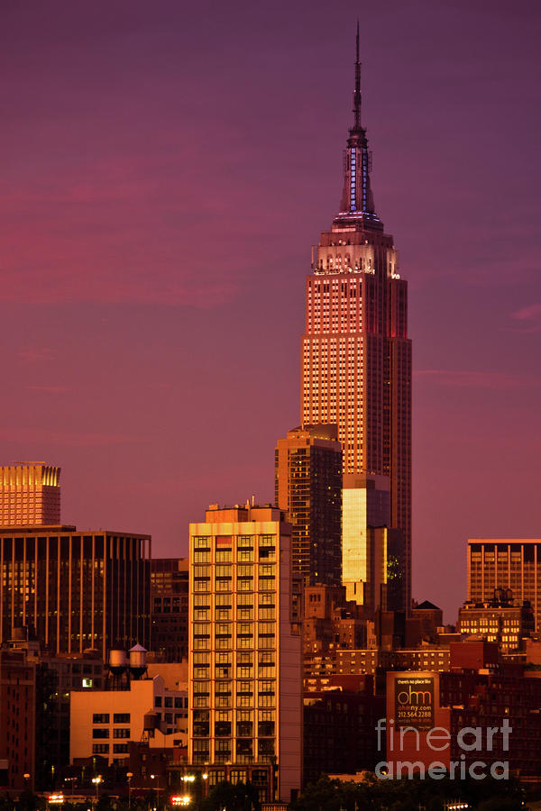 empire state building sunset - photo #11