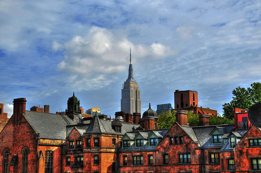 Empire State Building From The High Line Photograph  - Empire State Building From The High Line Fine Art Print