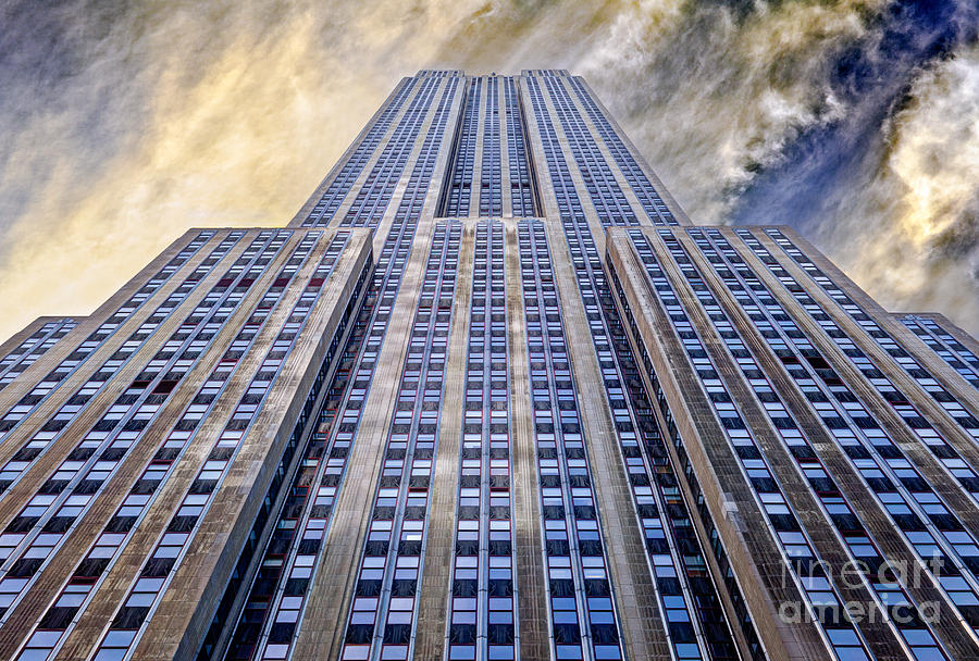 Empire State Building  Photograph  - Empire State Building  Fine Art Print
