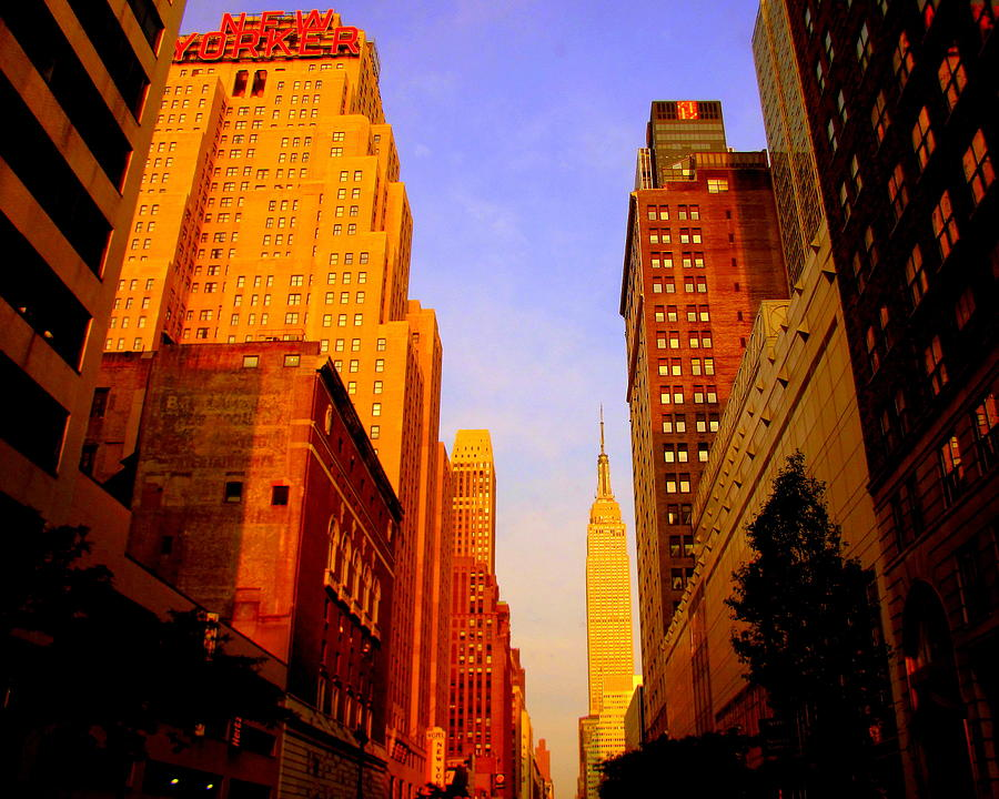 empire state building sunset - photo #41