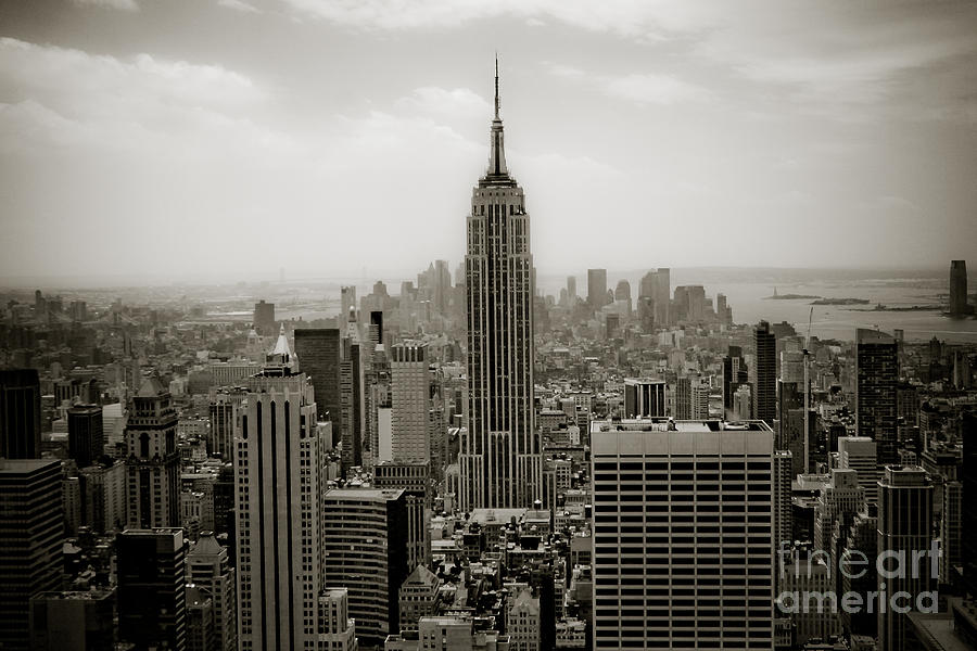 Empire State Photograph  - Empire State Fine Art Print