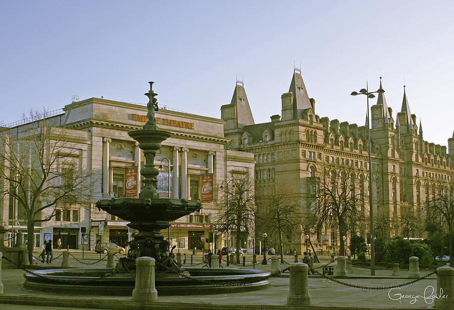 Empire Theater In Liverpool Photograph