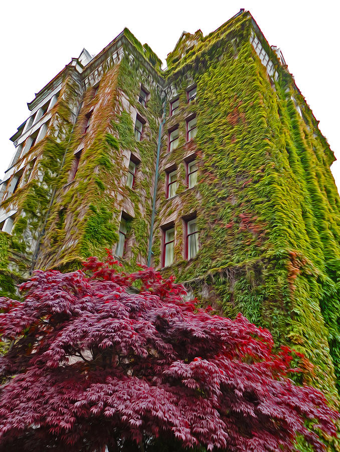 Empress Hotel Photograph - Empress Hotel - Victoria Canada - 02  by Gregory Dyer