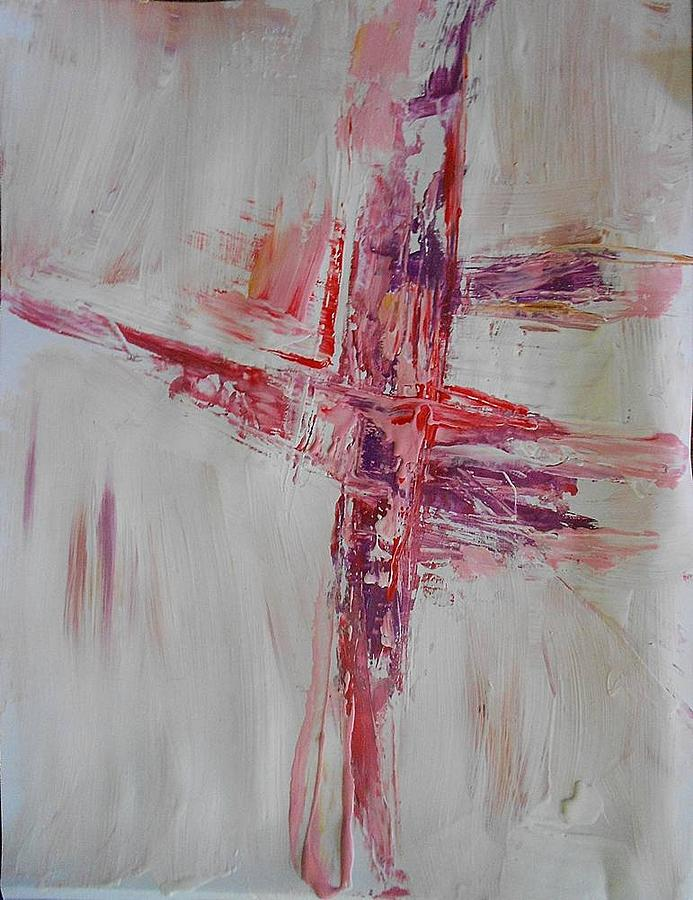 Empty Cross Commission For A Monastery Painting by Ulrich ... Empty Cross Painting