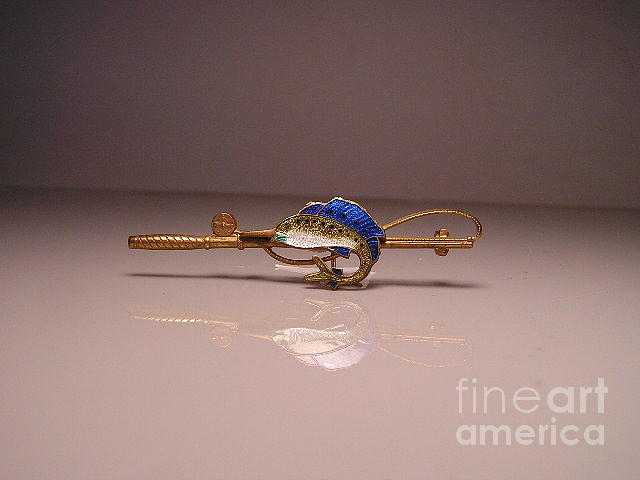 Fishing Jewelry - Enamels 24a by Dwight Goss