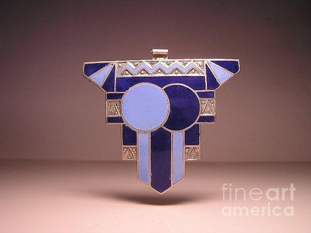 Art Deco Jewelry - Enamels 8 by Dwight Goss