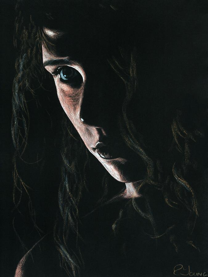 Enchantress Pastel  - Enchantress Fine Art Print