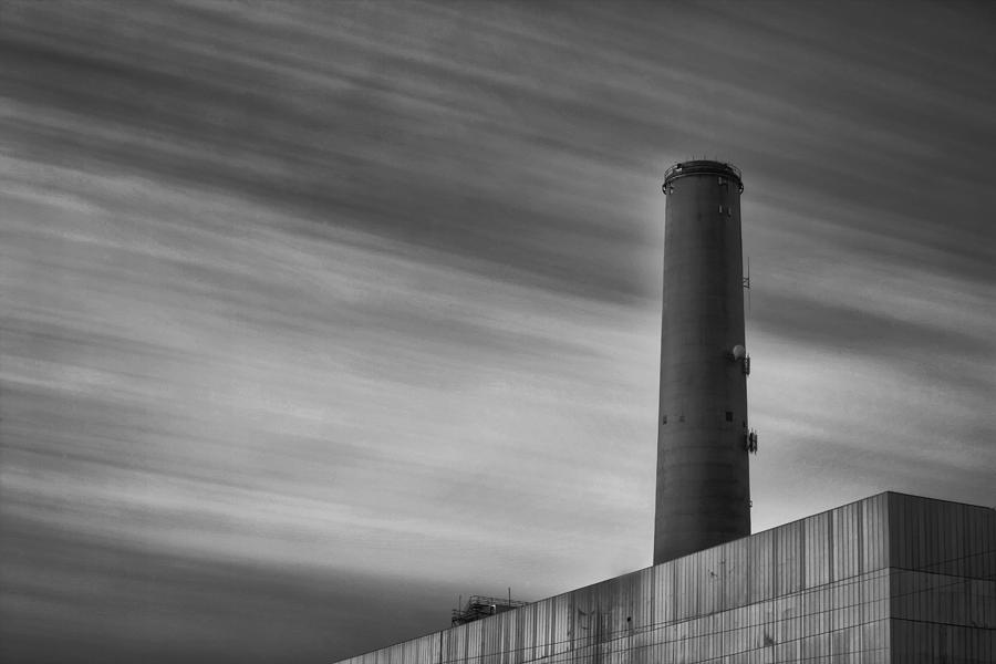 Encinas Power Plant Photograph  - Encinas Power Plant Fine Art Print