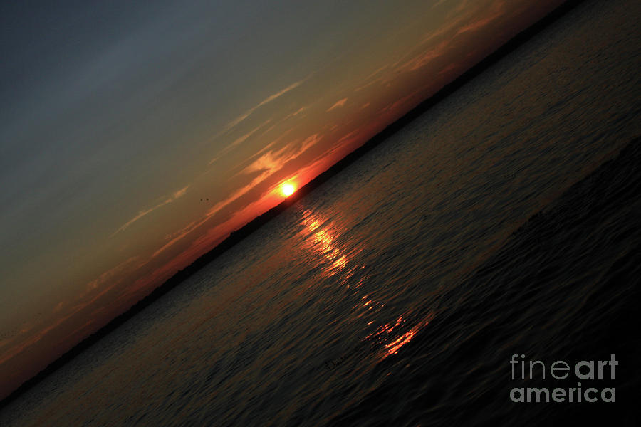 End Of An Off Balance Day Photograph  - End Of An Off Balance Day Fine Art Print