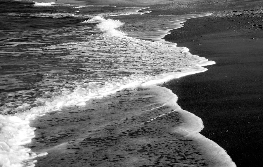 Waves Photograph - Endings by Christy Usilton