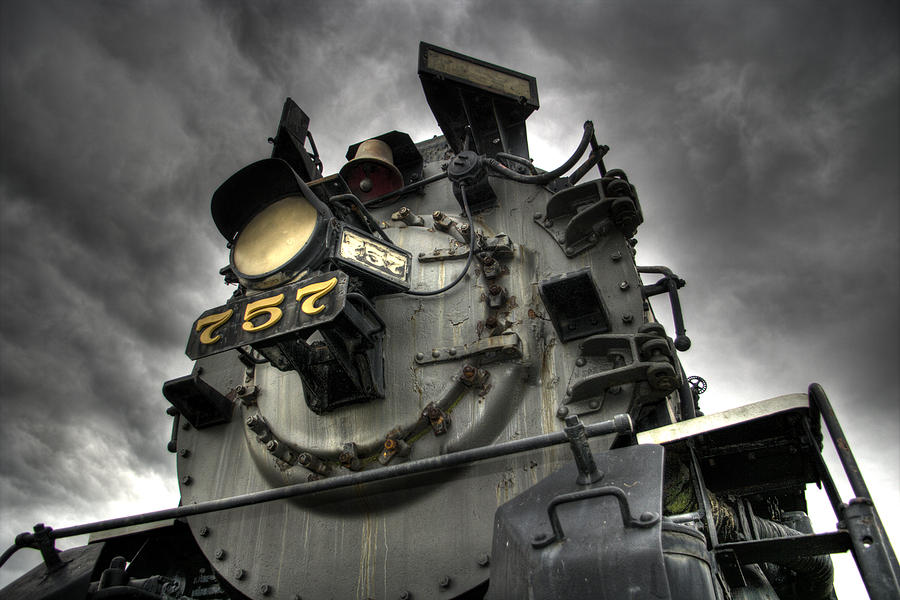 Engine 757 Photograph  - Engine 757 Fine Art Print