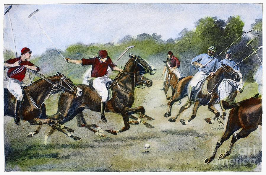 England: Polo, 1902 Photograph