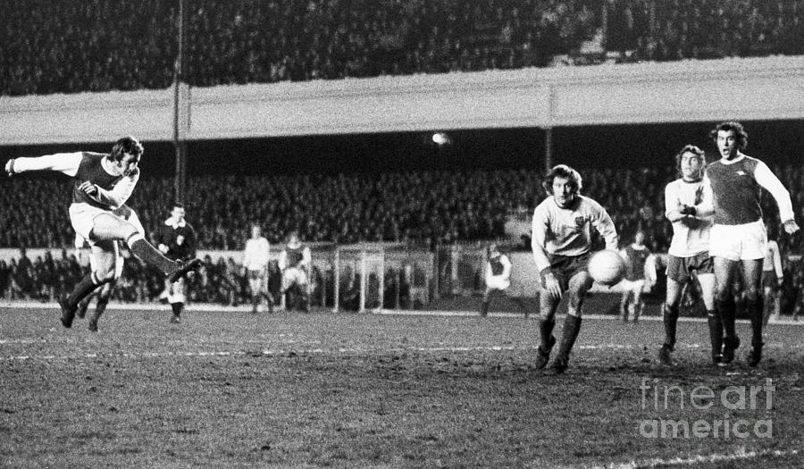 England: Soccer Game, 1972 Photograph
