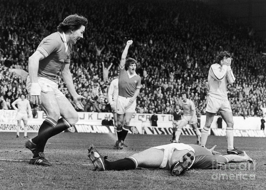 England: Soccer Game, 1977 Photograph