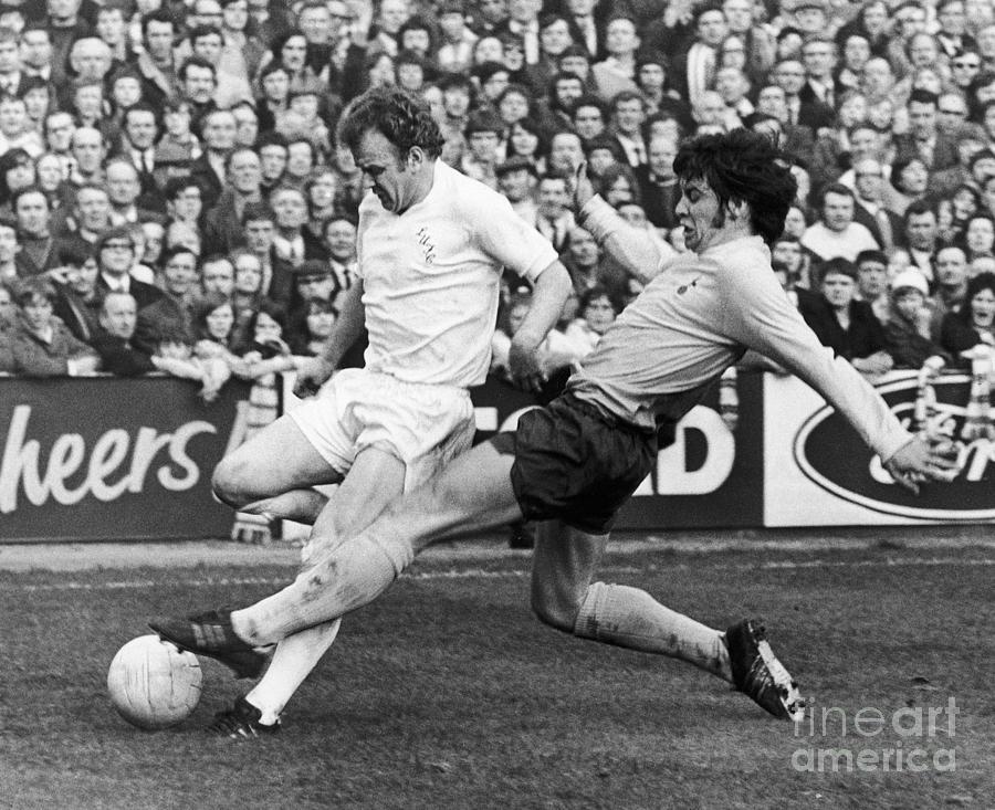 England: Soccer Match, 1972 Photograph