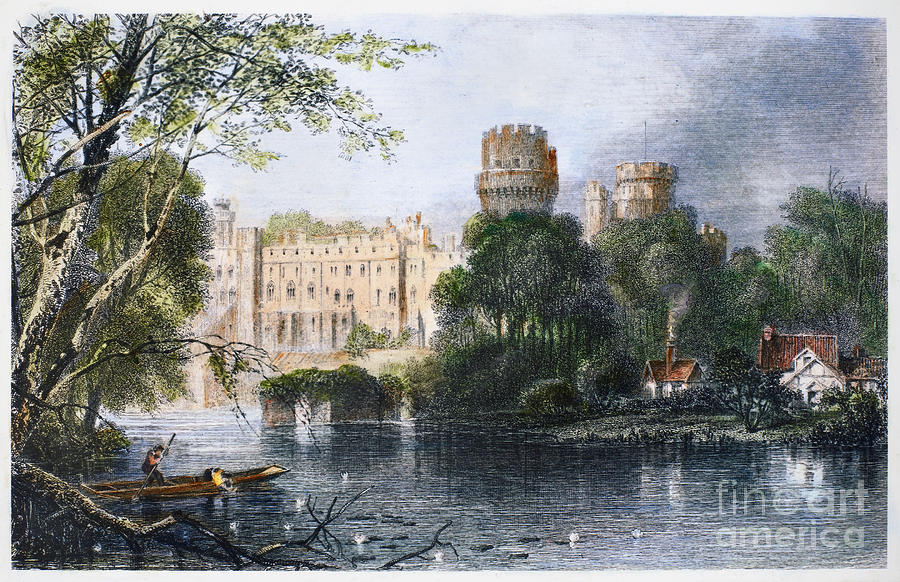 England: Warwick Castle Photograph