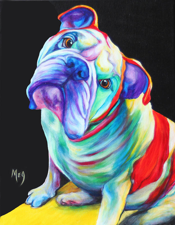 English Bulldog Artwork Pictures to Pin on Pinterest ...