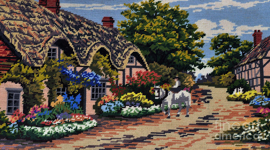 English Tapestry Tapestry - Textile
