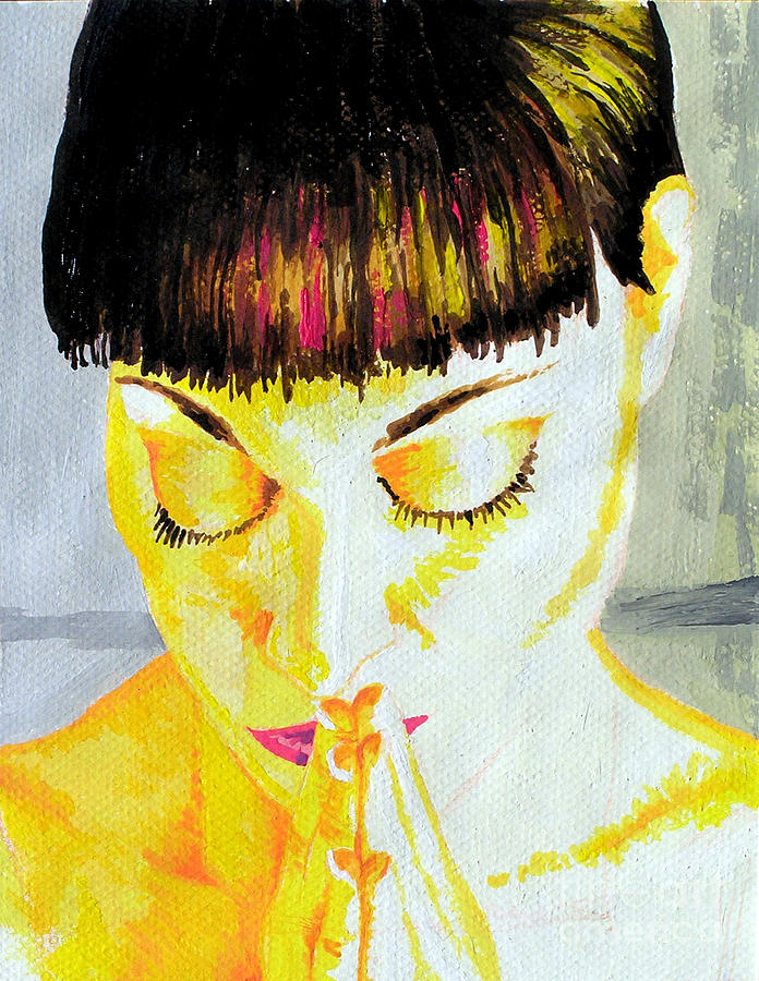 Enlightened Woman Painting