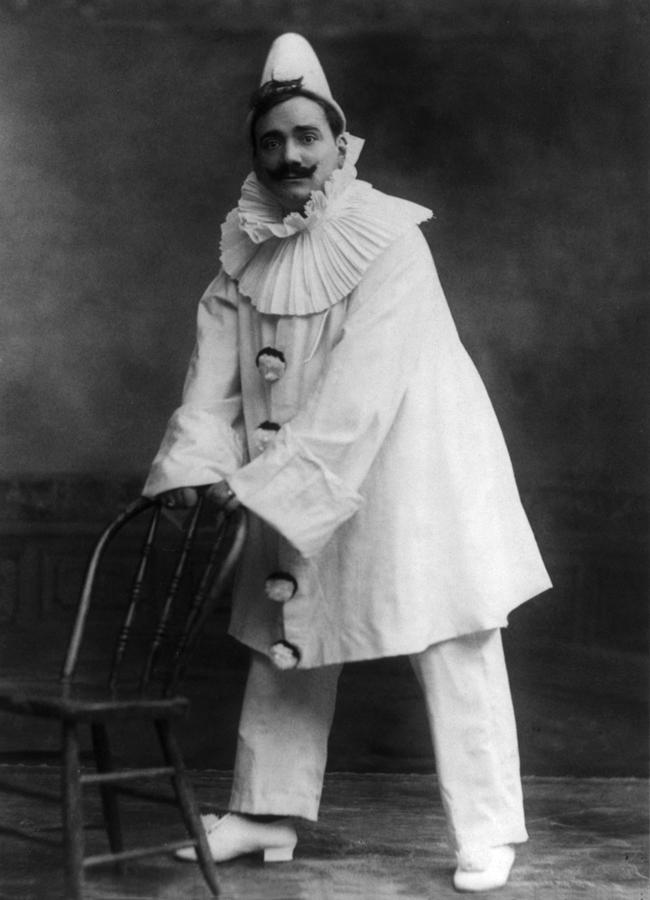 Enrico Caruso 1873-1921, As The Clown Photograph  - Enrico Caruso 1873-1921, As The Clown Fine Art Print