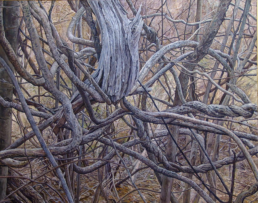 Entanglements Painting