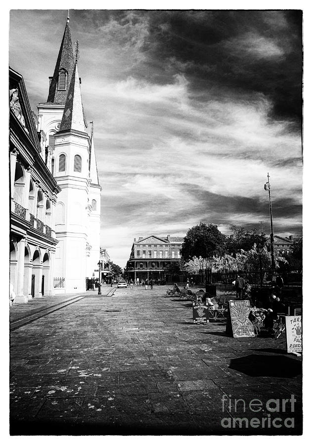 Enter Jackson Square Photograph  - Enter Jackson Square Fine Art Print