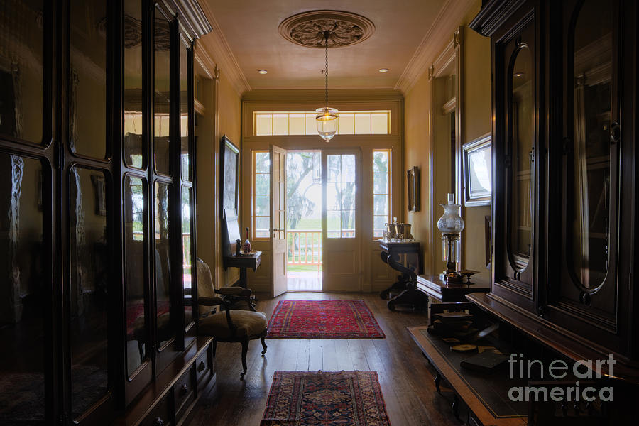 Old House Foyer : Entrance foyer of an old home photograph by jeremy woodhouse