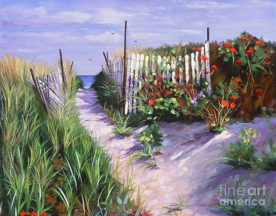 Entrance To Nantasket Painting  - Entrance To Nantasket Fine Art Print