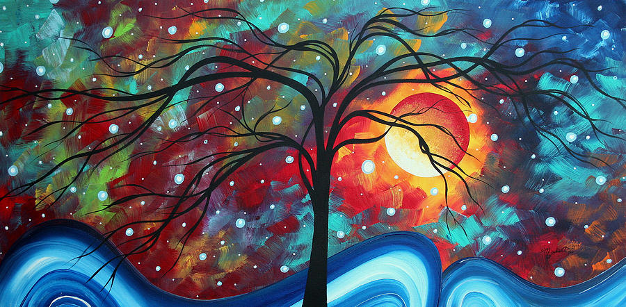 Envision The Beauty By Madart Painting