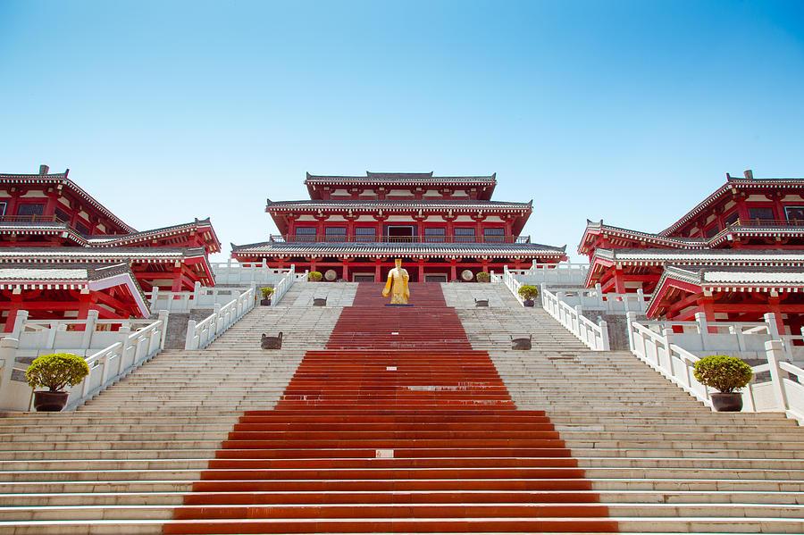 Epang Palace Photograph