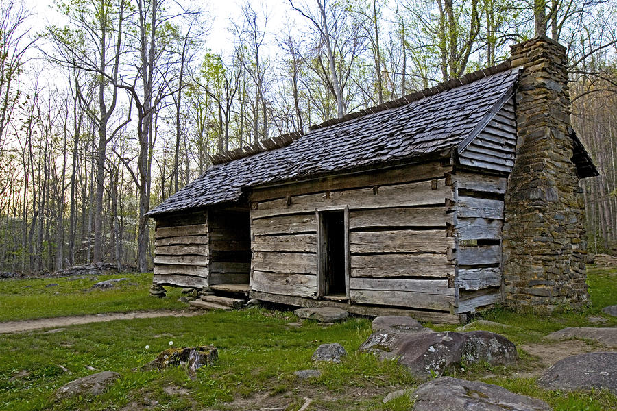 Ephraim Bales Cabin In Great Smoky Mountains National Park