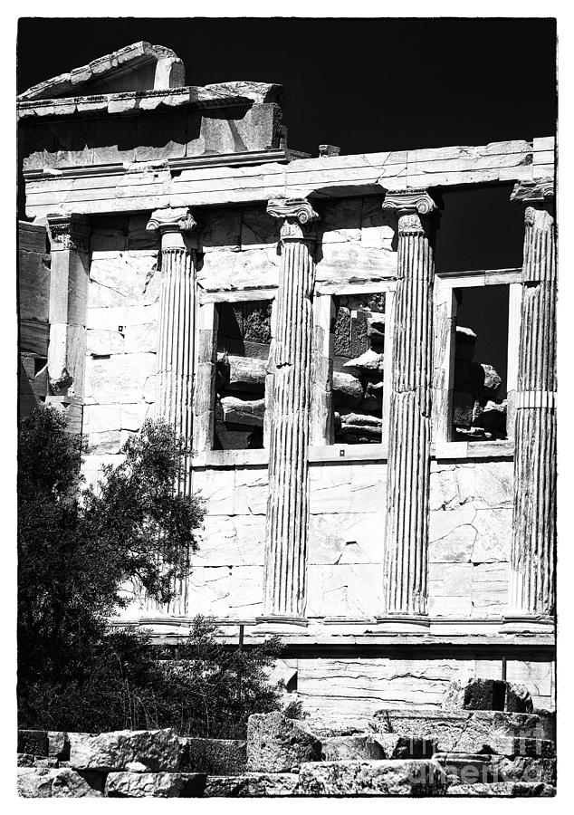 Erechtheum Columns Photograph