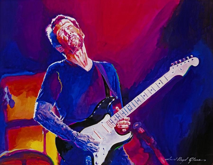 Eric Clapton - Crossroads Painting