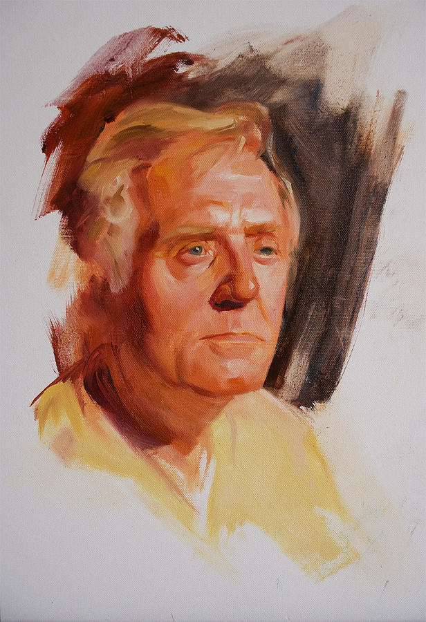 Portrait Painting - Eric by Stephen Molyneaux
