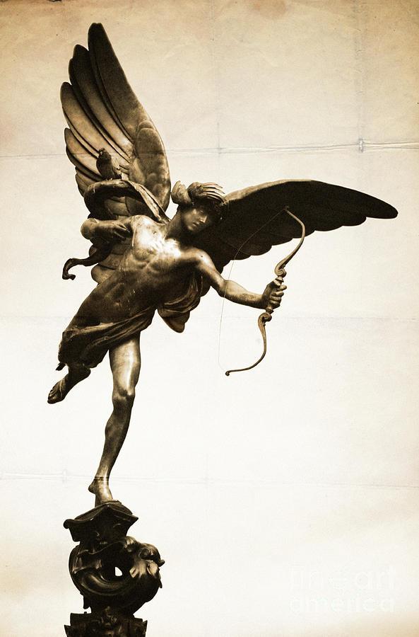 Eros Statue Photograph
